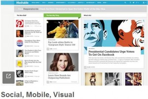 Mashable redesigns website
