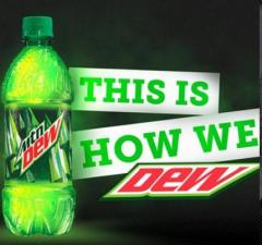 Mountain Dew website and promotion