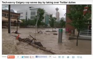 Downtown Calgary flooded, evacuated
