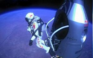 Red Bull Space jump had news value