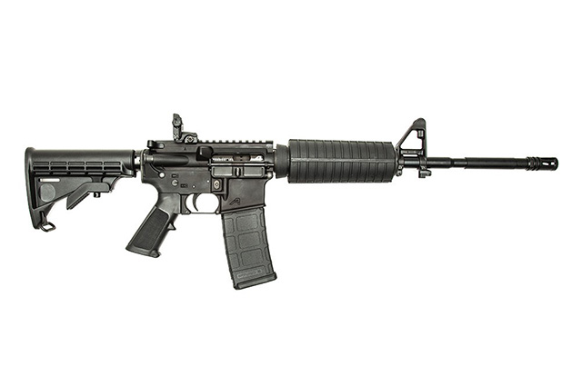 AR15 - Hands down the most versatile weapon you can have if the SHTF.