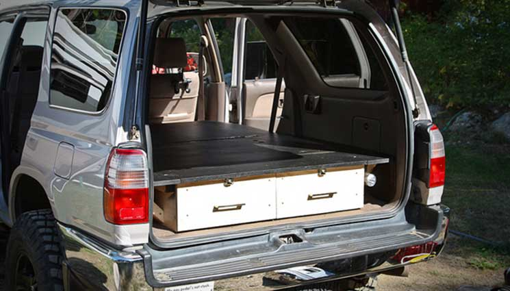 How To Build A Pickup Truck Sleeping Platform The