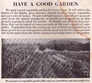 Have a good garden.