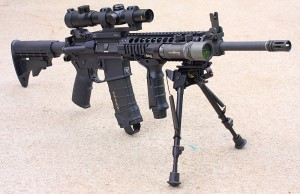 The AR in AR15 was originally for ArmaLite.
