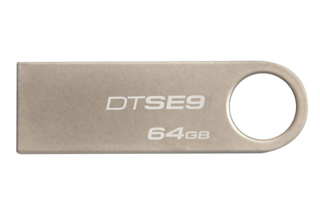 Kingston Digital DataTraveler SE9 64GB USB 2.0 Flash Drive