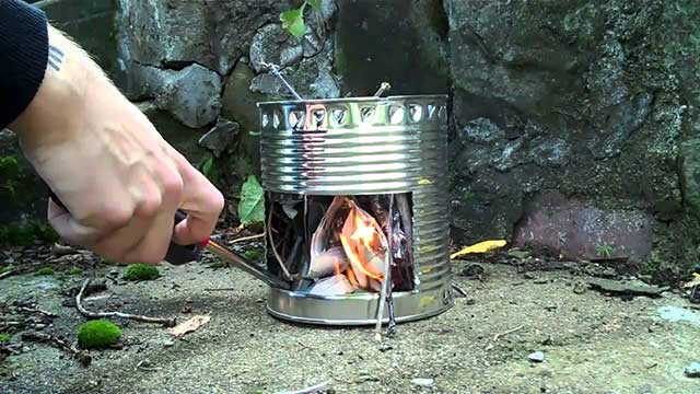 Can you make a hobo stove?