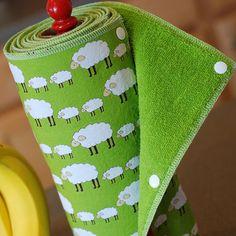bedsheet reusable paper towel