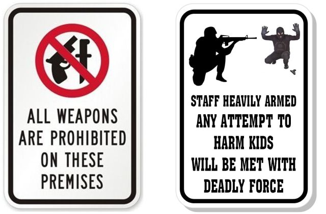 Which of these signs will prevent another tragedy