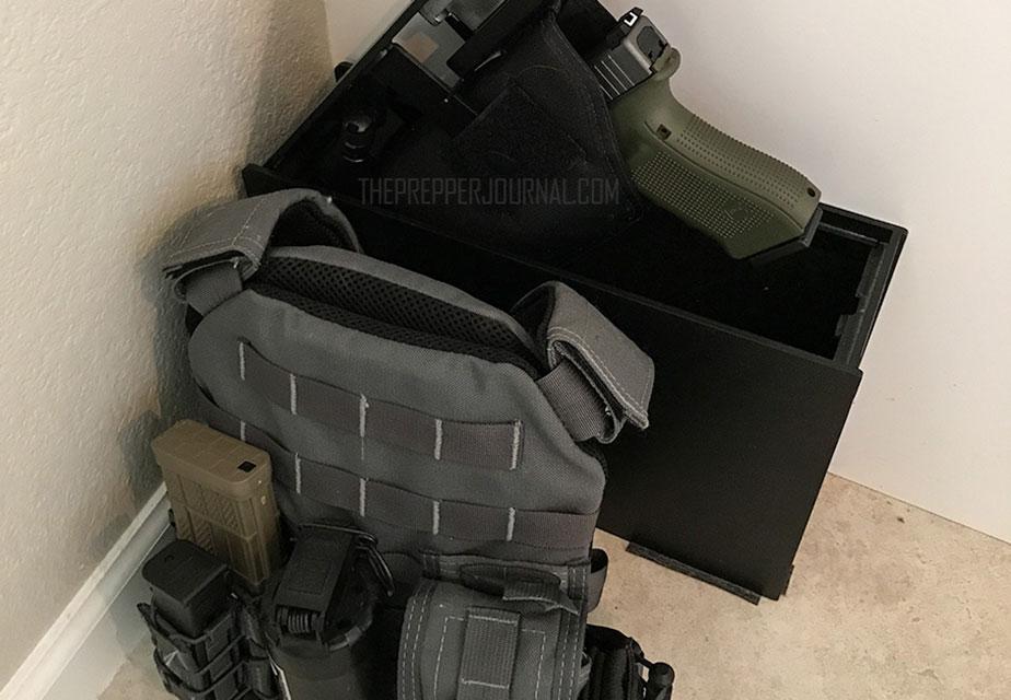 bedside handgun safe