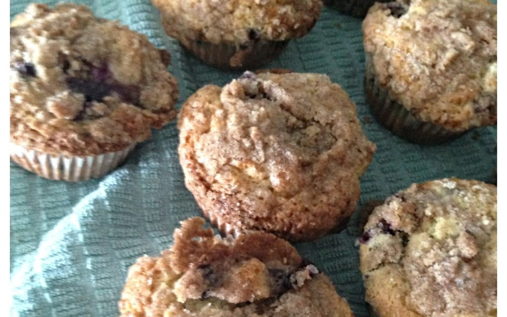 Nantucket Blueberry Muffins