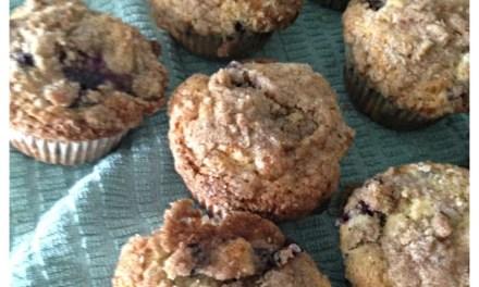 Nantucket Blueberry Muffins