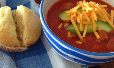 Spicy Turkey Chili and Honey Corn Bread