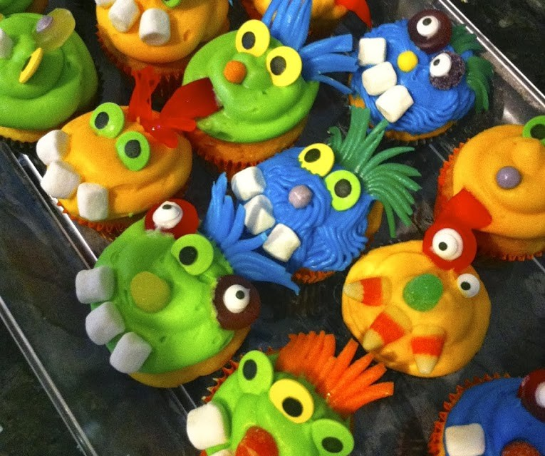 Monster Madness Cupcakes