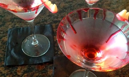 Vampire Blood Martini
