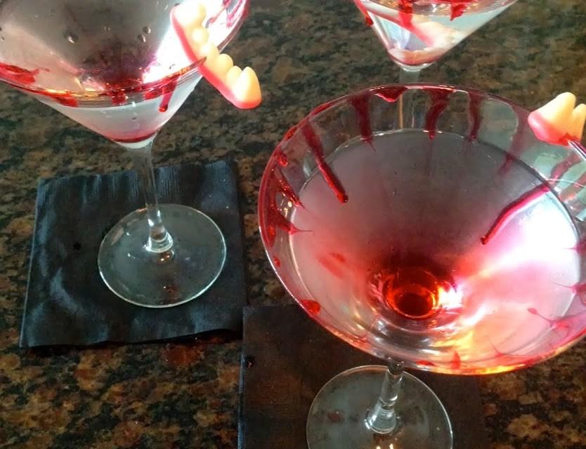 Vampire Blood Martini