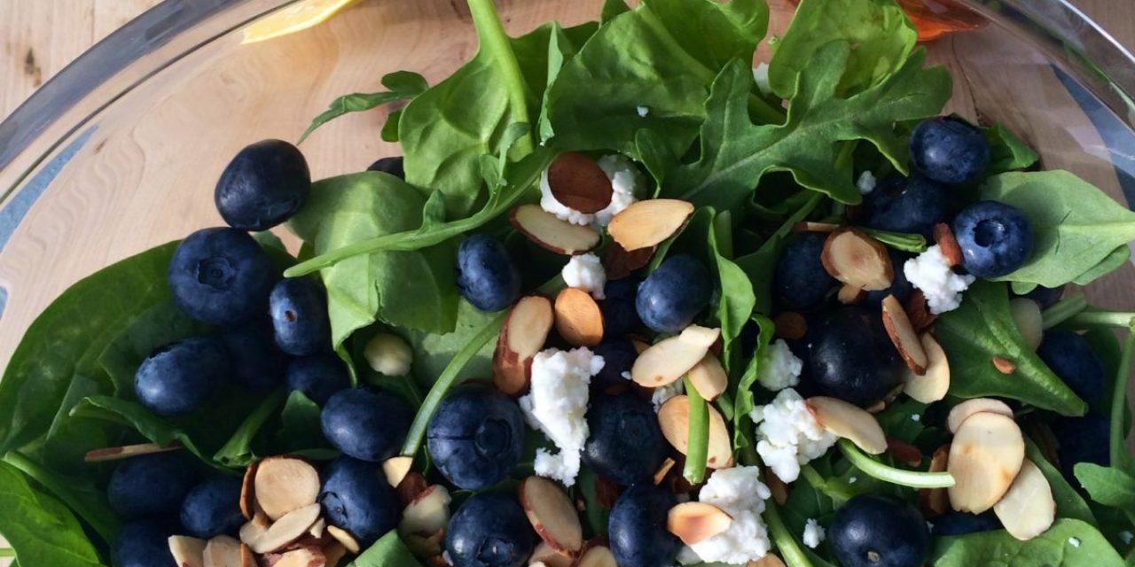 Bartlett's Blueberry Salad