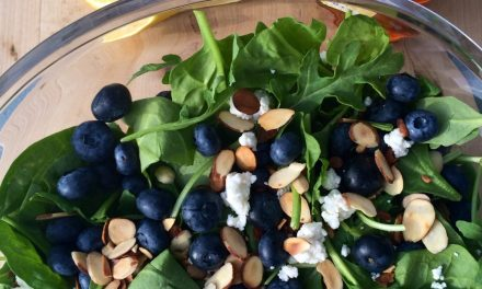 Bartlett's Blueberry Salad