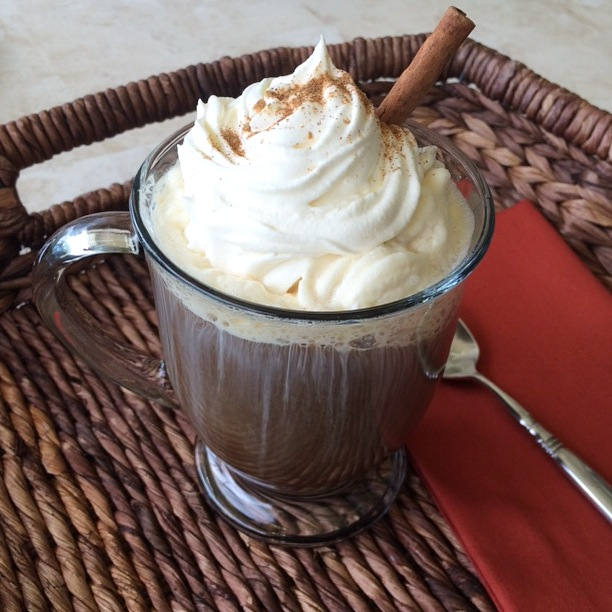 Copycat Pumpkin Spice Latte, by Good Housekeeping Magazine