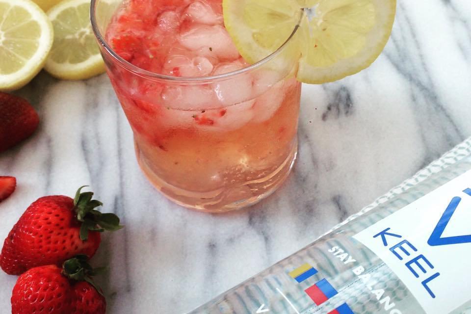 Strawberry Lemonade with KEEL Vodka