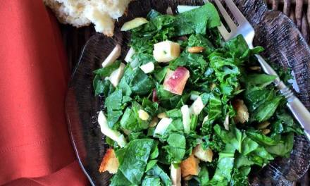 Spinach and Kale Power Salad