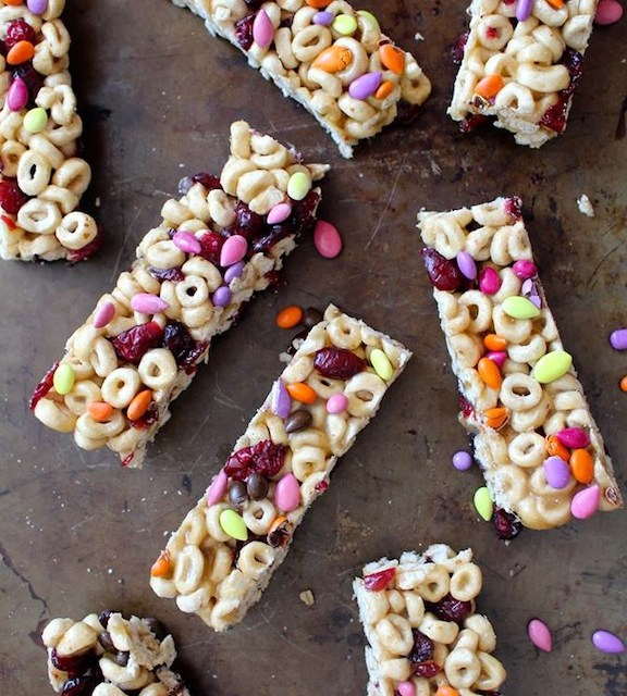 Honey Nut Cereal Bars