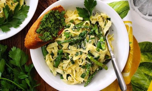 Spring Vegetable Pasta Primavera