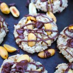 Chocolate Chip Oatmeal Cookies with Peanuts