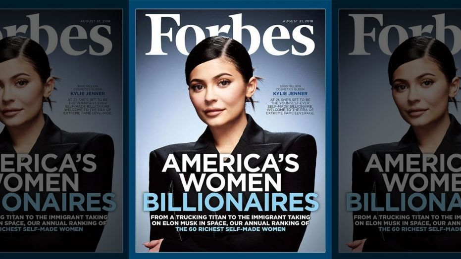 forbes kylie jenner cover