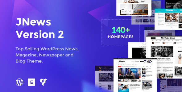 JNews - WordPress Newspaper Magazine Blog AMP Theme for blogging