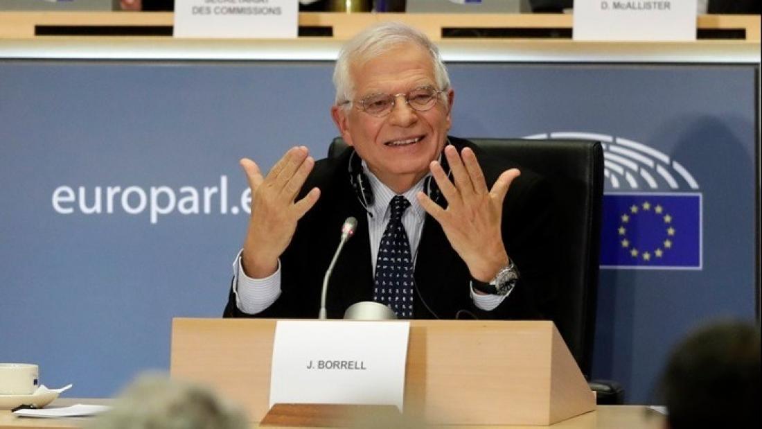 """Ζ. Μπορέλ: """"Ανησυχούμε για την κλιμάκωση στην Ανατολική Μεσόγειο ..."""