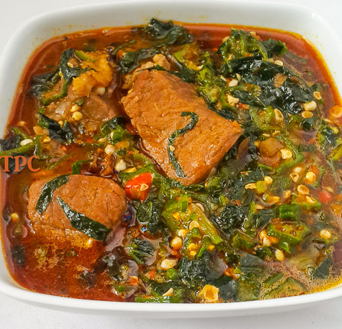 Fresh Okro Soup Okra Soup The Pretend Chef