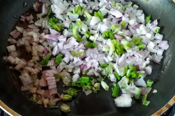 frying onions-1