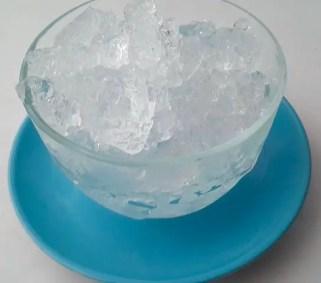 crushed ice for mango lassi