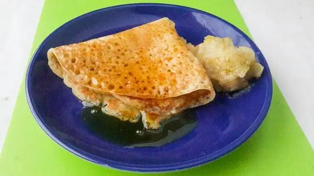 Soft, sweet and spicy diet-nigerian pancake
