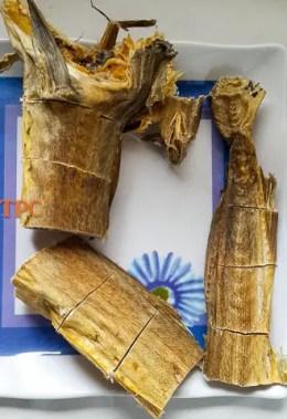 cod stock fish for ofe owerri