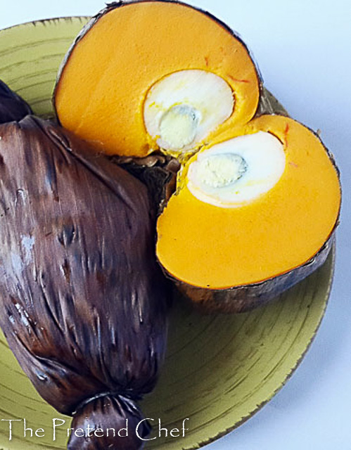 Soft, healthy, vibrant and delicious Okpa