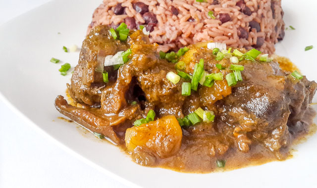 jamaican goat curry