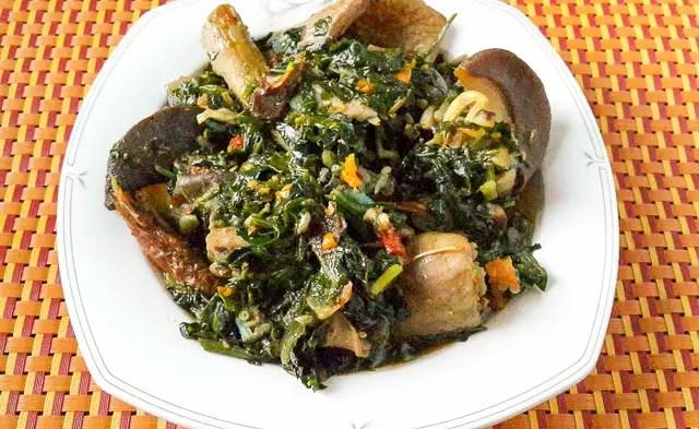 Nigerian Vegetable Soup
