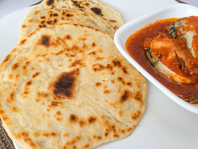 Soft, flaky and crispy East African Chapati