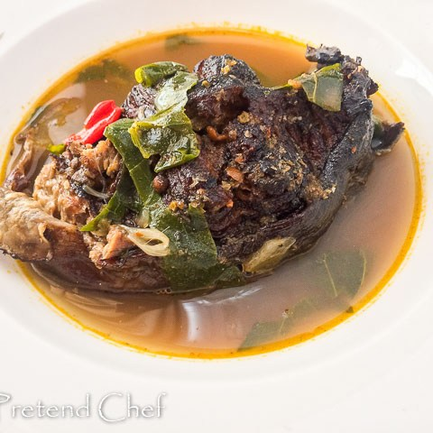 dry fish pepper soup, nigerian dry fish pepper soup