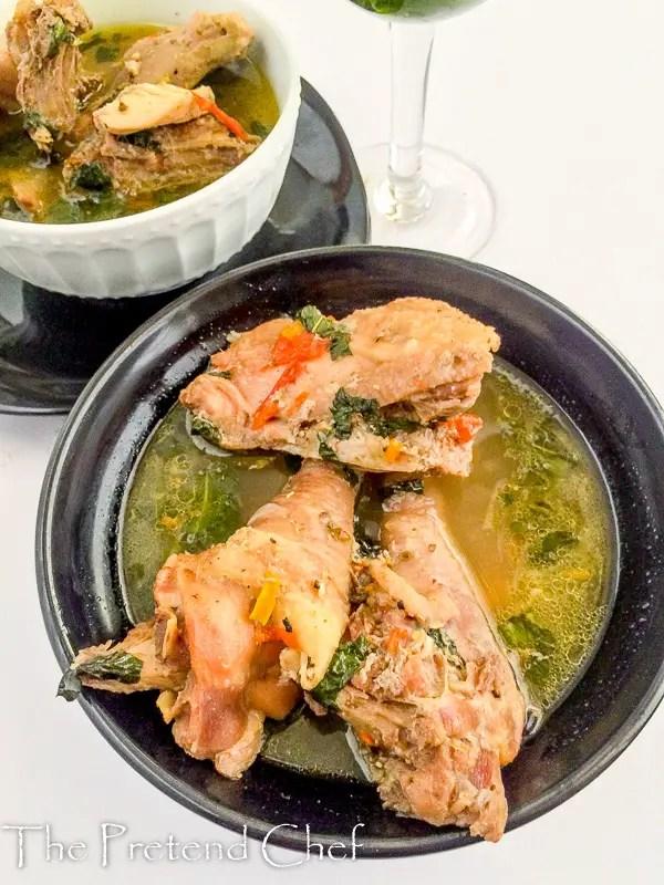 Chicken pepper soup, Nigerian Chicken pepper soup
