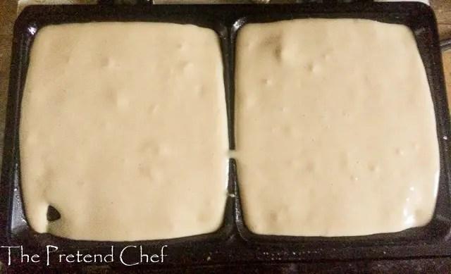 Easy waffles batter in waffle maker