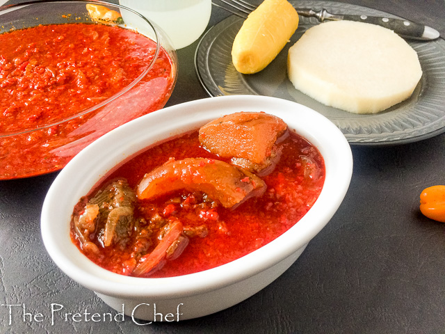 Cayenne Pepper Stew (Shombo Stew)
