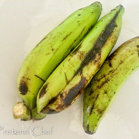 unripe banana for Oto Mboro, Unripe plantain porridge