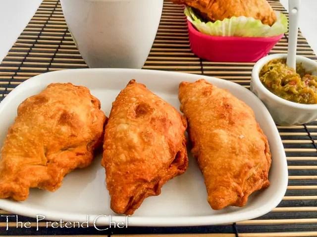 Puffy, Crispy fried empanadas