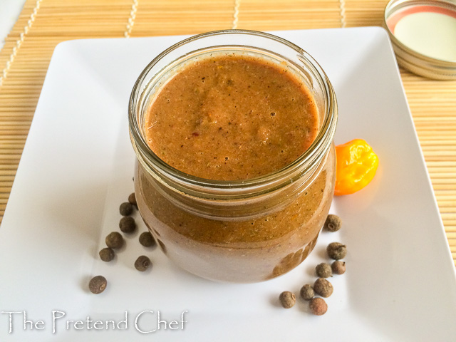 Jamaican Jerk Marinade (sauce)