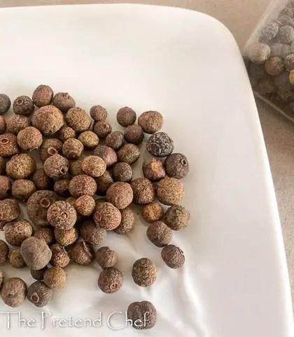 allspice (pimento) seeds