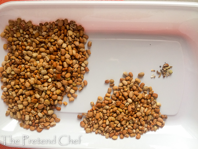 Brown beans for nigerian beans porridge
