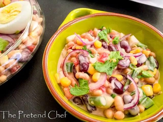 Healthy Mixed Beans salad