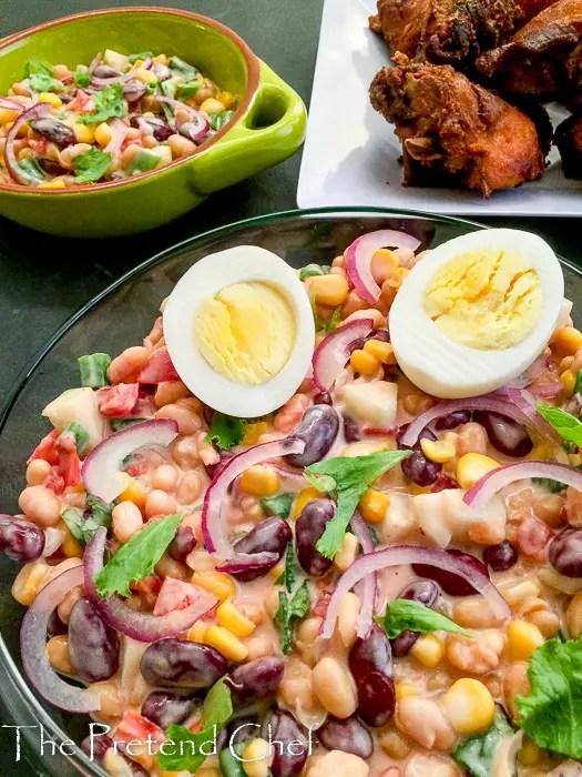 Gluten-free Mixed Beans salad